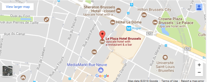 H2020 Secure Societies 2018 Info Day and Brokerage Event - Venue