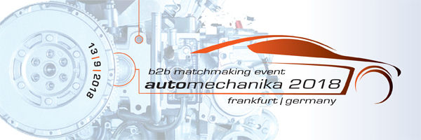International B2B event for automotive suppliers during AUTOMECHANIKA 2018 @ Congress Center Fair Frankfurt | Frankfurt am Main | Hessen | Allemagne